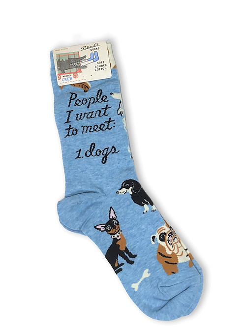 People i want to meet. 1 Dogs socks