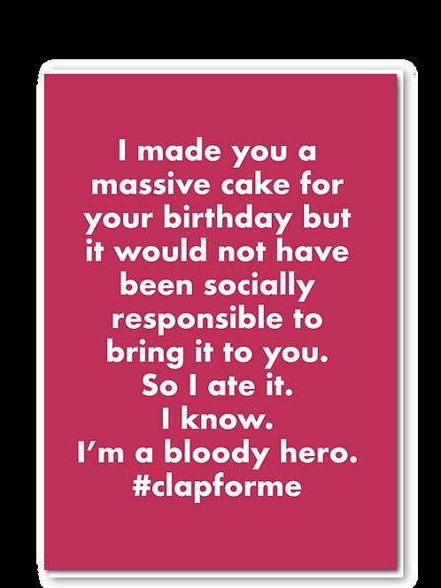 #clapforme