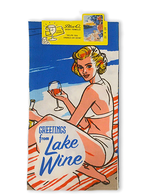Lake wine TeaTowel
