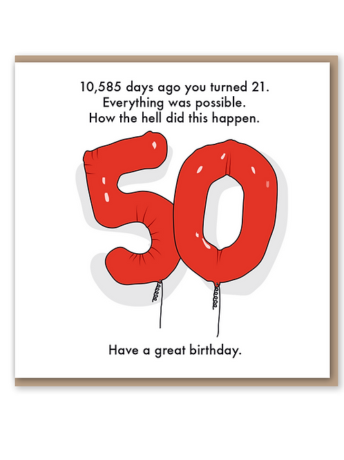 50th  - How The Hell
