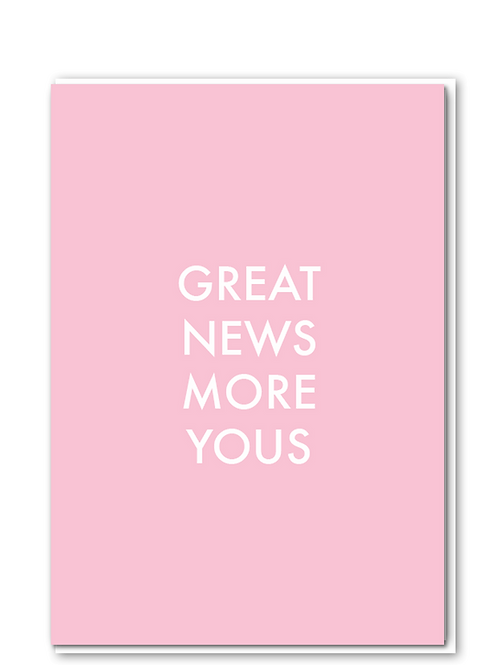 Great News More Yous (pink)