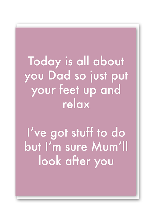 Mum Will Look After You