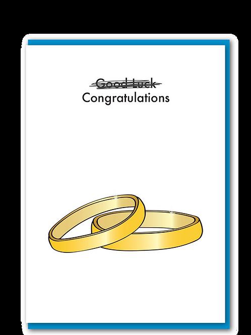 Good Luck Wedding