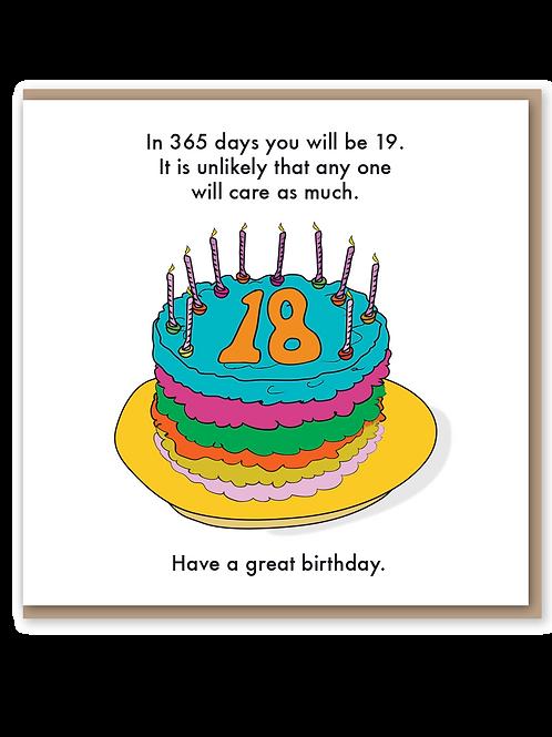 18th - Cake