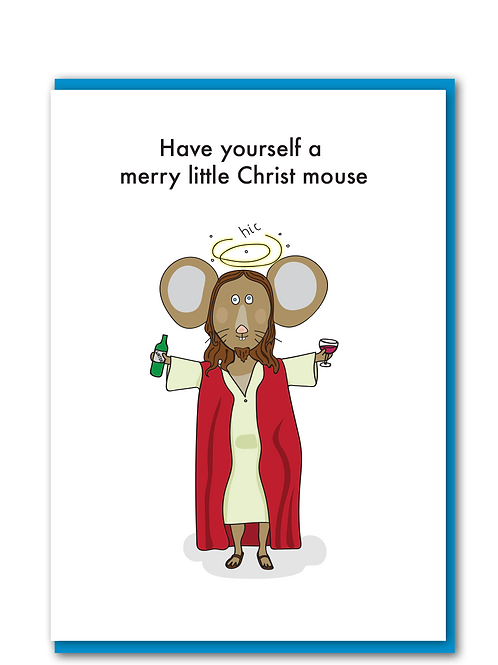 Merry Christ Mouse