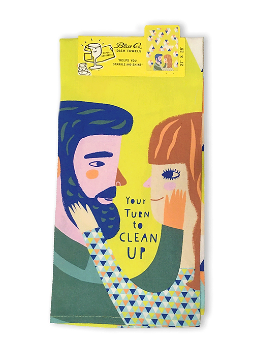 Your turn to clean upTeaTowel