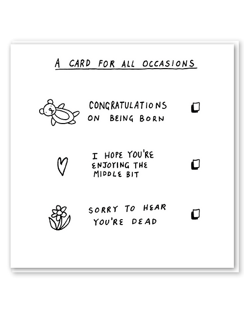 A card for all occasions