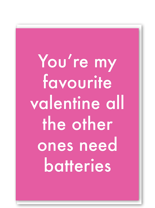 Favourite Valentine