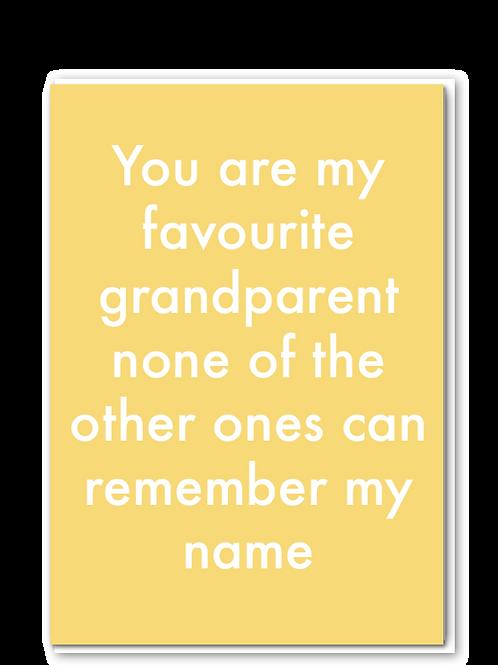 Favourite Grandparent