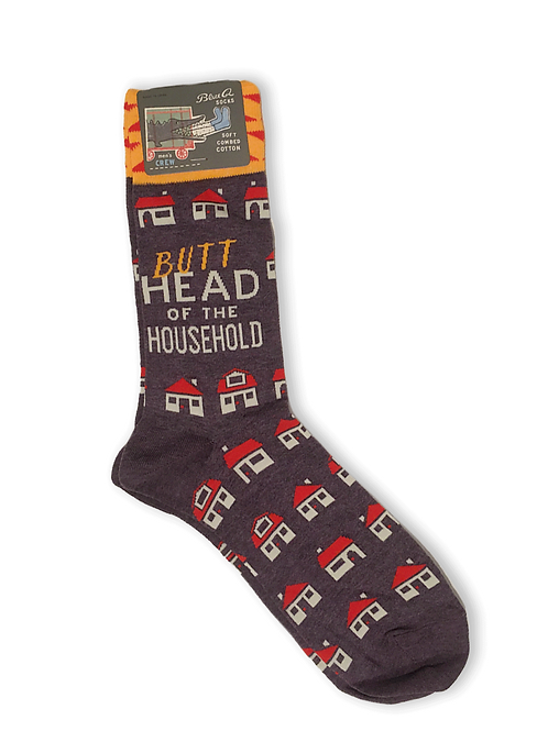 Butt head of the Household  Socks