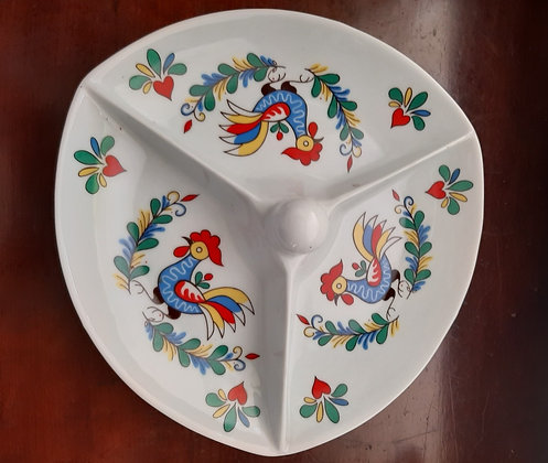 Petisqueira Porcelana AGE Galo Português