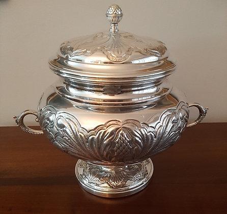 Sopeira Decorativa de Prata