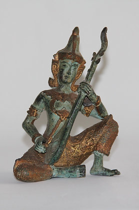Escultura Oriental de Bronze
