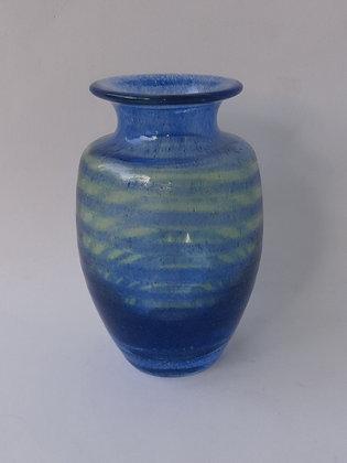 Vaso Azul Listrado
