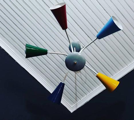 Lustre Colorido Anos 50