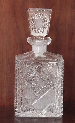 Licoreira Lapidada de Cristal