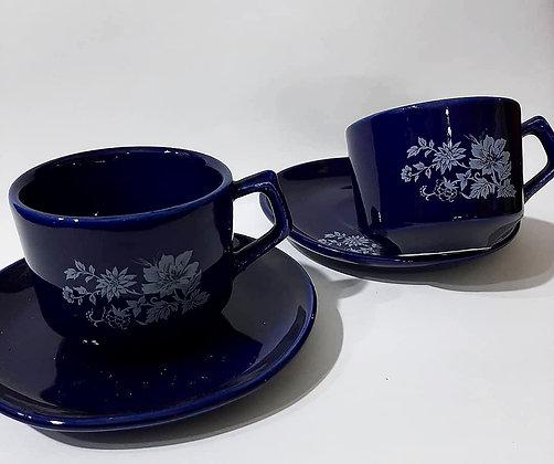 Jogo 6 Xícaras de Chá Nerina