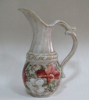 Jarra de Porcelana Schmidt Pintada à Mão (ref 440)