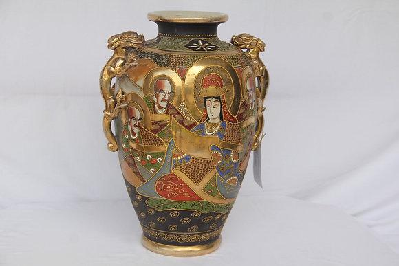 Vaso Cerâmica Satsuma