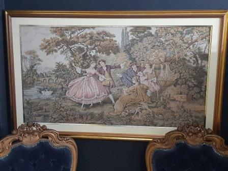 Quadro Gobelin Francês Anos 80 1,40 x 1,80