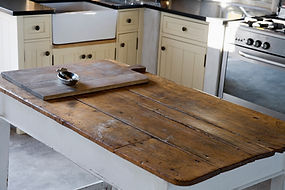 Wooden fited kitchen joinery