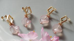 桜色の耳飾り