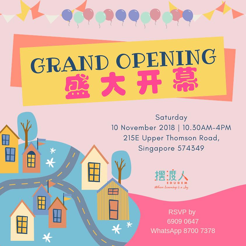 Grand Opening on 10 November 2018