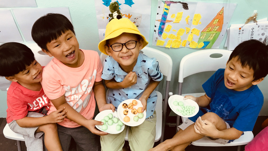 A fun activity to integrate learning Chinese with fun: Making Tang Yuan