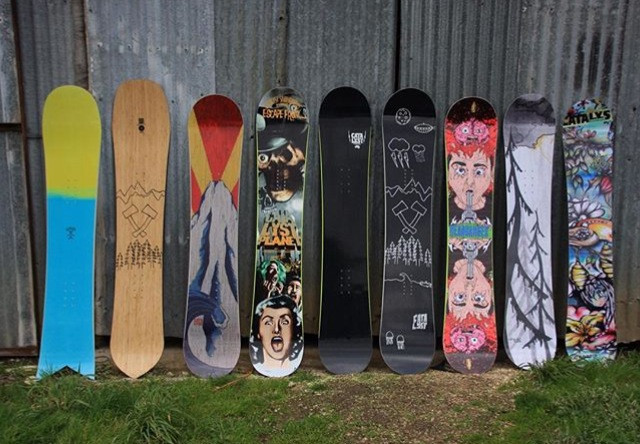 Catalyst Snowboards 2016 Winter Range