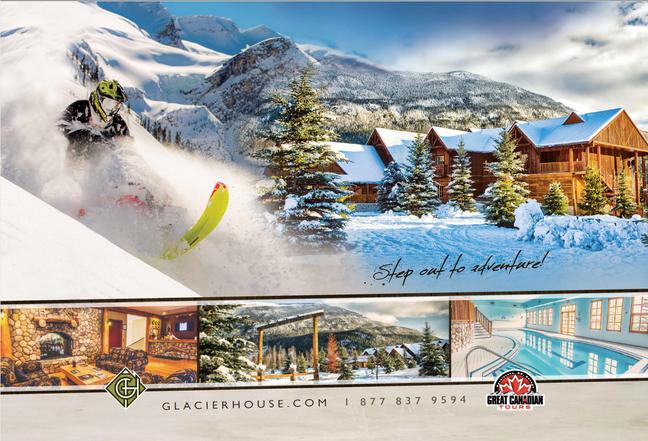 Pop up Banner - Great Canadian Tours & Glacier House Resort