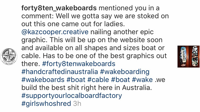Thanks Forty8ten Wakeboards