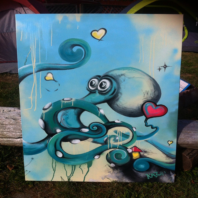 The Octopus - For the Taco Club in Revelstoke BC