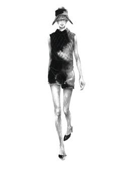 black sketch m