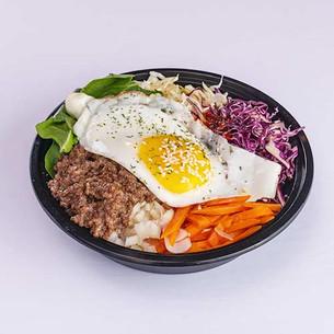 Beef/ Vegetarian Bibimbap