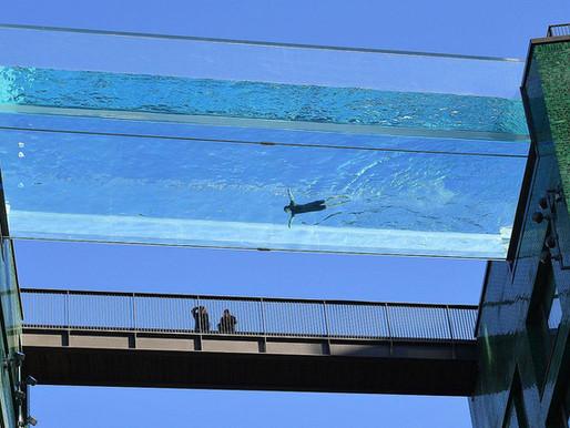 La piscina suspendida entre dos edificios en Londres, a 35 metros de altura 😱