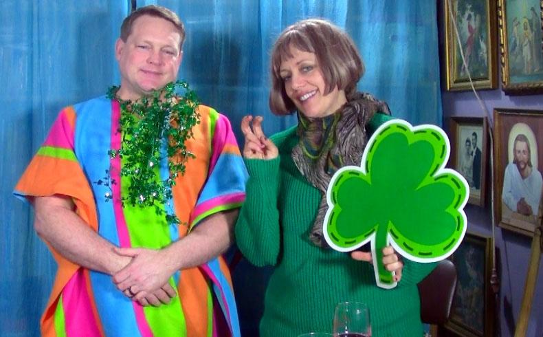 St. Patrick's Day Brooch