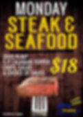 Steak & Seafoof Kirra Beach Surf Club