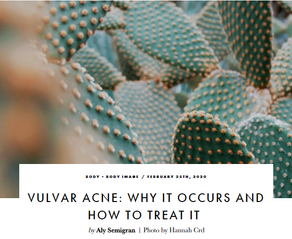 Dr. Ferro discusses Vulvar Acne with BLOOD + MILK