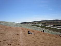 Grumpys Deerfoot Trail Erosion Control