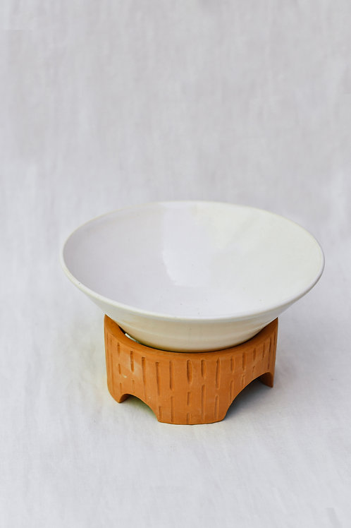 Bowl Medival White