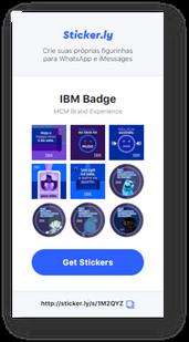 IBM BADGE - MEUS PARCEIROS EM CASA