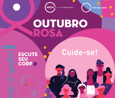 MCM Brand Experience promove campanha para o Outubro Rosa