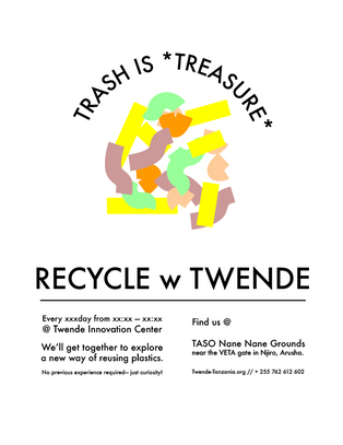 recycling workshop advertising 1