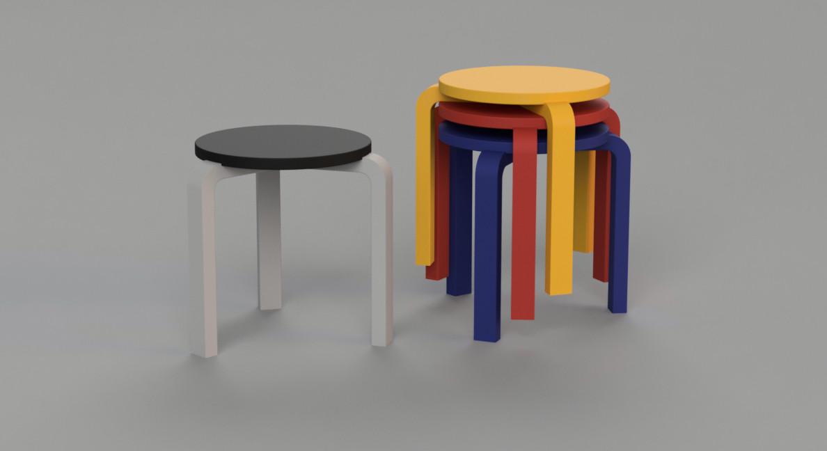 Alvo Alto's stool 60