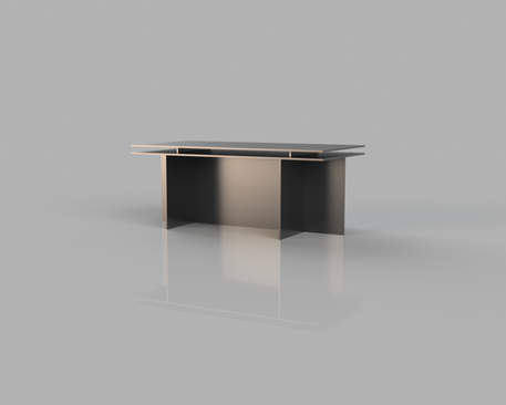 Don Judd table