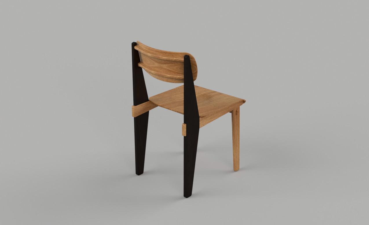 Jean Prouvé's Standard Chair