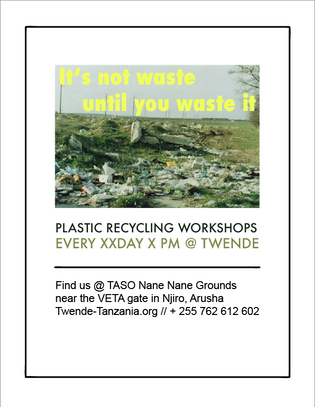 recycling workshop advertising 2