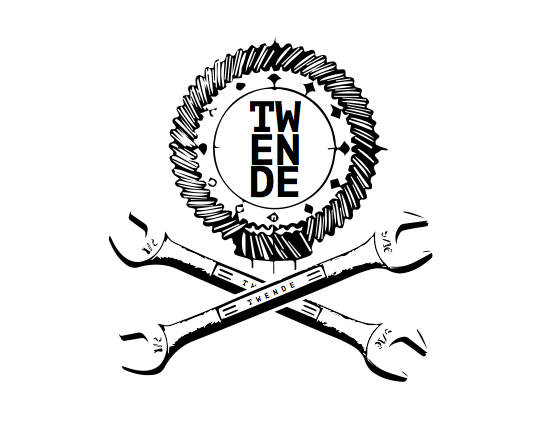a mock up of a logo for Twende Innovation Center