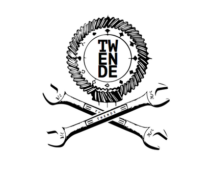 a mock up of a logo for Twende Innovation Center