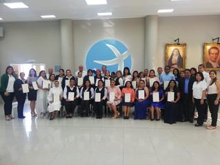 Culminación del Primer Programa de Formación Integral en Pastoral, Pedagogía y Gestión Educativa con
